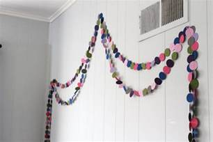 New Home Decorating Ideas On A Budget diy circle garland a cheap and easy kid s room decorating