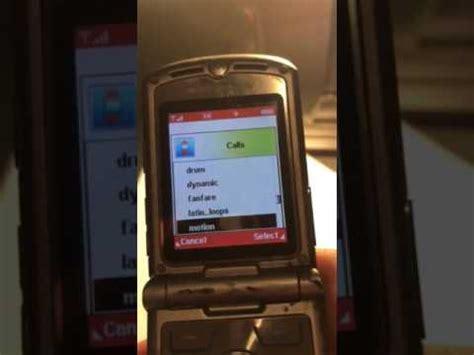 Motorola Razr V3c Video Clips