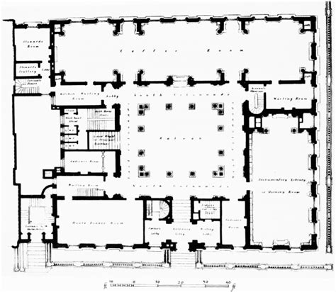 Floor Layout Free Online plate 96 reform club pall mall british history online