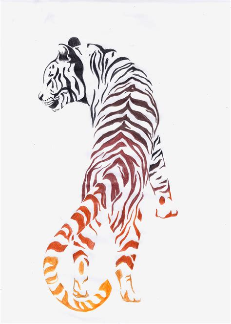 tiger tattoo design by noreydragon on deviantart