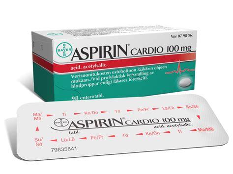 Obat Cardio Aspirin 100 Mg aspirin cardio 100 mg enterotabletti yliopiston