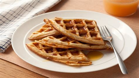 whole grain yeast waffles whole grain waffles recipes food network uk