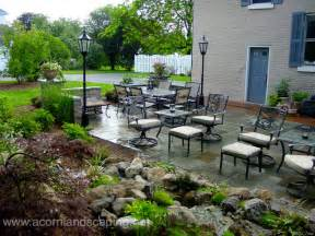 Patio Pavers Rochester Ny Backyard Patio Designs Pavers Designer In