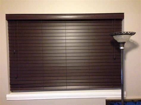 2 inch faux wood blinds 2 inch privacy faux wood blinds 3 blinds 33 inches wide west shore langford colwood