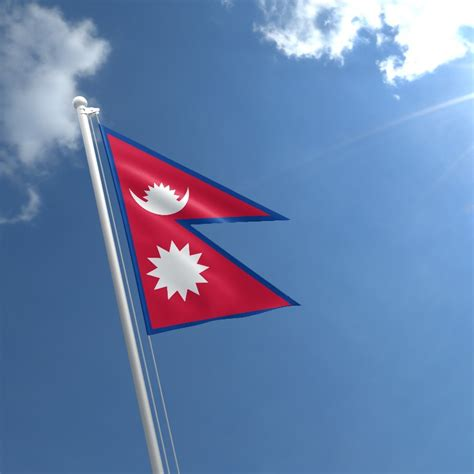 flags of the world nepal nepal flag buy flag of nepal the flag shop