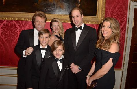 Jon Bon Jovi Lends A To Charity by Prince William Sings Livin On A Prayer With Bon