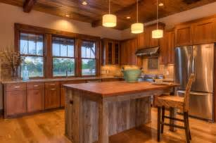 Modern Rustic Kitchen by Some Rustic Modern Day Kitchen Floor Tips Interior