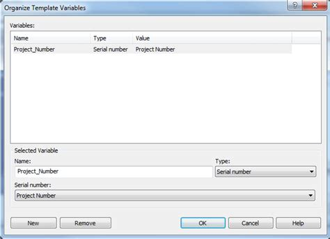 template variables solidworks epdm serial number will not increment
