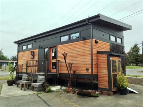 Small Homes You Can Move Modern 450 Sq Ft Prefab Tiny Home By Greenpod