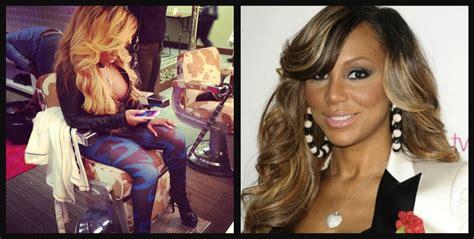 k michelle inspired wigs tamar braxton k michelle spark petty twitter feud over