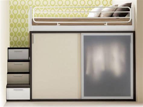 soluzioni armadio di design per la camera letto piccola