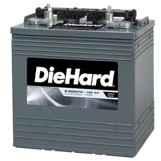 Battery Exchange A True Story by Diehard Golf Cart Battery Size Ep Gc8 Price With