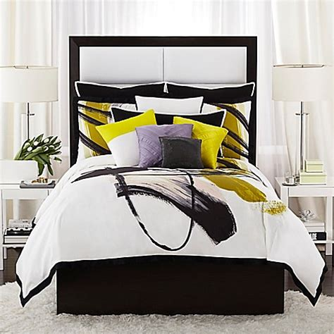vince camuto bedding buy vince camuto 174 basel european pillow sham in black from