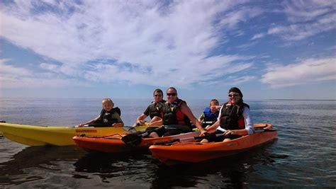 Kayaking In Door County by Kayak Tours In Door County Lakeshore Adventures