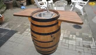 how to make a wine barrel sink raymondo