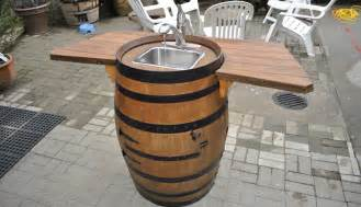 How to make a wine barrel sink 25 comments
