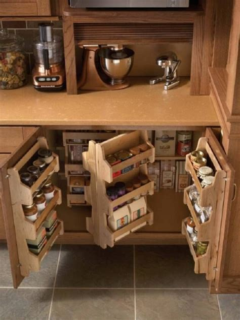 Kitchen Cabinet Storage by 18 Amazing Diy Storage Ideas For Kitchen