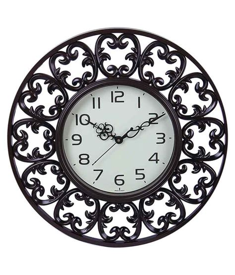 brown wall clocks contemporary sns creations brown contemporary designer wall clock