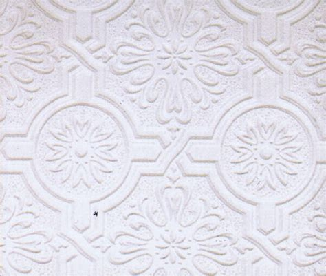 tile pattern paintable wallpaper circle medallion and embossed design tin ceiling paintable