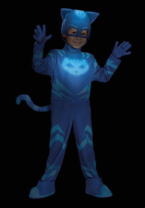 Jubah Kostum Pj Mask Catboy deluxe pj masks catboy costume for boys