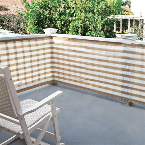 Outdoor Patio Privacy Screen by Privacy Screen For Deck Porch And Patio Railings The