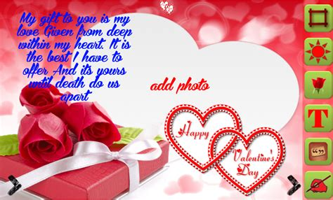 valentines day photo frame day frames android apps on play