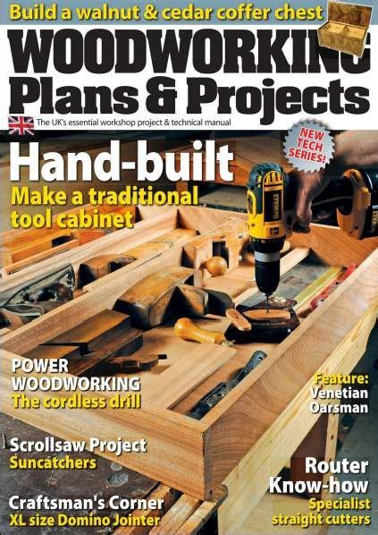 revista woodworking plans projects junio  hq