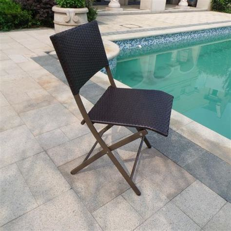 backyard creations 174 piazzo folding chair at menards 174