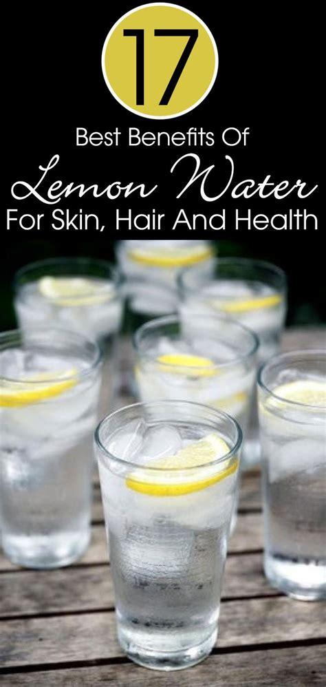 Detox Water Wiki by Best 25 Lemon Water Ideas On Detox Water To