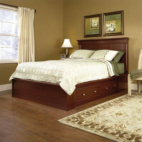 cherry headboard full queen panel headboard in cherry 411840