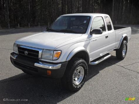 2000 Toyota Tacoma Prerunner 2000 White Toyota Tacoma V6 Prerunner Extended Cab