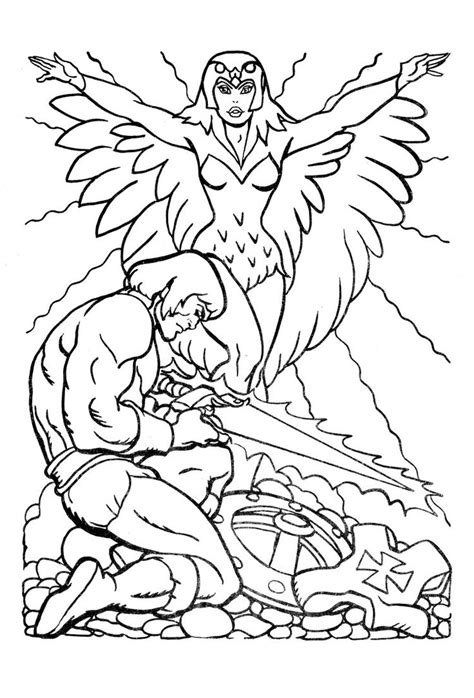 he man coloring pages for kids dawson pinterest