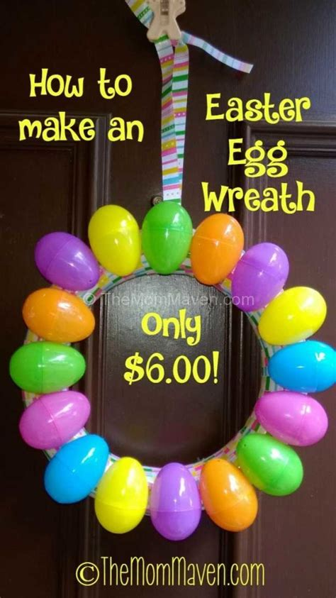 how to make easter eggs how to make an easter egg wreath the maven