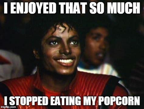 Meme Eating Popcorn - michael jackson imgflip