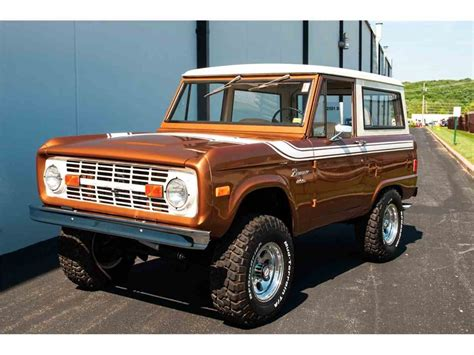 ford bronco for sale 1977 ford bronco for sale classiccars cc 983394
