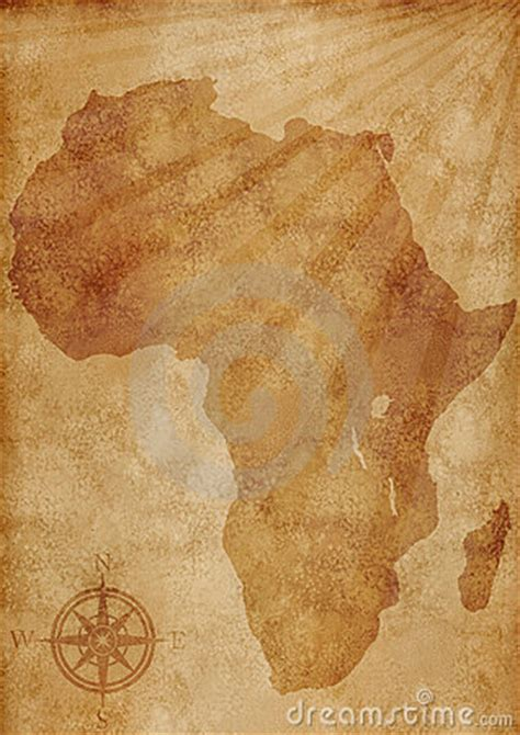 africa map illustration royalty  stock