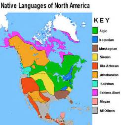 Native American Map Of North America by Index Of Native Americans