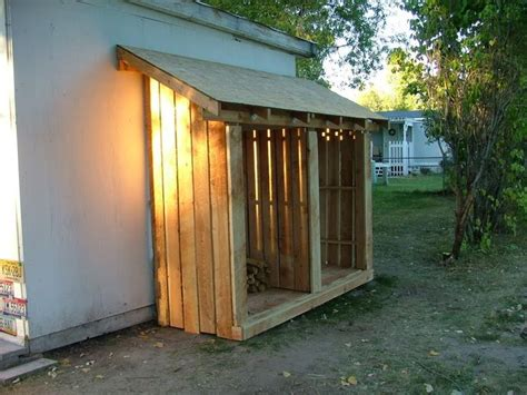Lean To Wooden Shed by Best 25 Small Wood Shed Ideas On Diy Projects