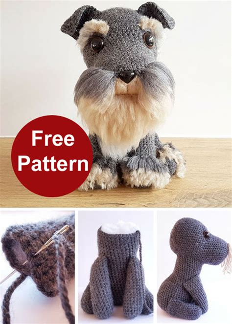 free crochet yorkie dog pattern with video the whoot free crochet yorkie dog pattern with video the whoot