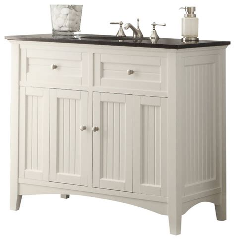 Cottage Style Bathroom Vanities Cottage Style Thomasville Bathroom Sink Vanity 42 Quot Traditional Bathroom Vanities And Sink