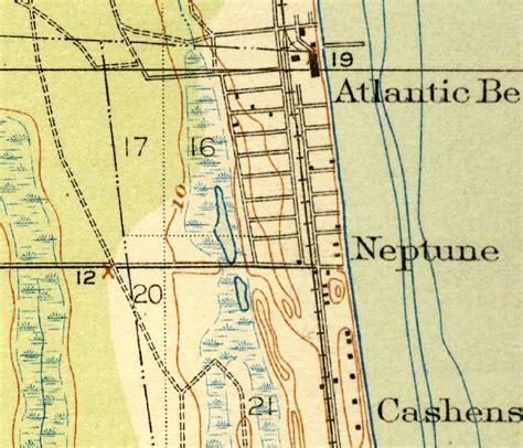 map of atlantic 1918 florida