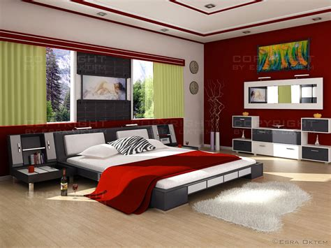 bedroom modern style 25 red bedroom design ideas messagenote