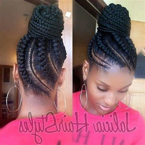 Cornrow Braided Updo Hairstyles by Cornrow Braids Updo Styles Suggestion