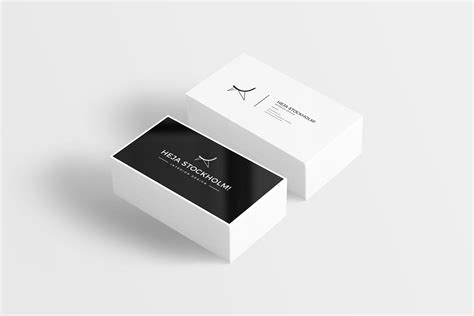 template mockup card set flat business card mockup free psd psd