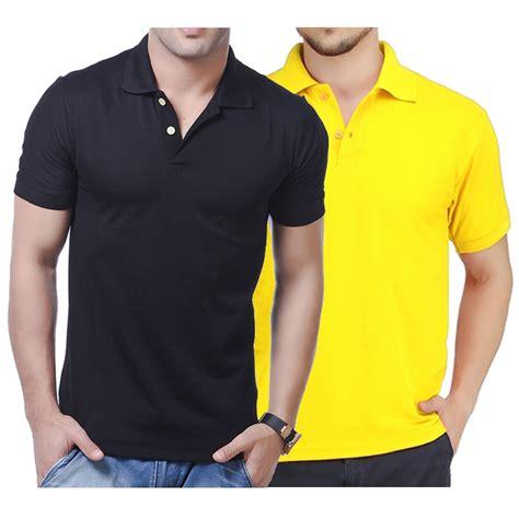 Kaos Pria Premium Terbaru kaos kerah polos pria basic polo shirt mens tshirt pendek premium quality 100 cotton pique