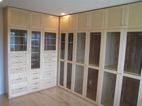 Custom Glass Closet Doors Crafted Custom Closets By Michael Meyer Woodworking Custommade