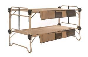 Bunk Bed Cots For Cing Arm O Bunk With Organizers Footlocker Disc O Bed