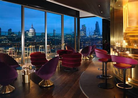 top london hotel bars london rooftop bars that are open all year londonist