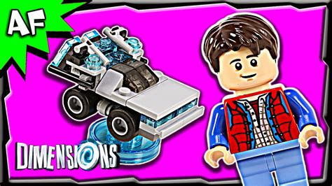 Lego 71201 Dimensions Level Pack Back To The Future lego dimensions back to the future level pack 3 in 1 build review 71201