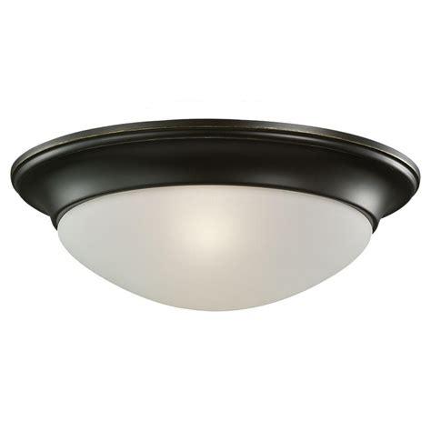sea gull lighting 1 light ceiling heirloom bronze